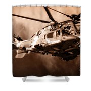 Close Shave Shower Curtain