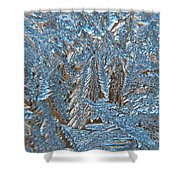 Close To Frost Shower Curtain