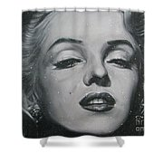 Close Up Marilyn Shower Curtain