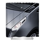 Close Up Of Cadillac Ulc Urban Luxury Car Shower Curtain