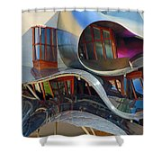 Close Up Of Marques De Riscal Shower Curtain