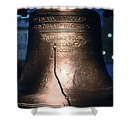 Close-up Of The Liberty Bell Shower Curtain