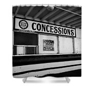 Closed For The Season Shower Curtain