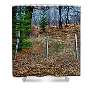 Closed Road Shower Curtain