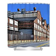 Closed Steel Mill Shower Curtain