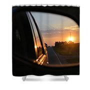 Closer Than They Appear Shower Curtain