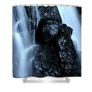 Closeup Waterfall Shower Curtain