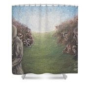 Closure Shower Curtain