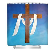 Cloth Of Christ Shower Curtain
