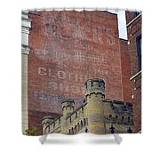 Classic Cincinnati Architecture Shower Curtain