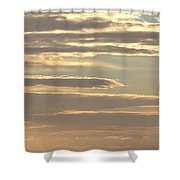 Cloud Abstract II Shower Curtain