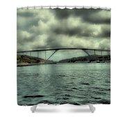 Cloud Bridge Shower Curtain