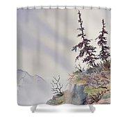 Cloud Catchers Shower Curtain