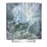Cloud Dancer Shower Curtain