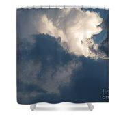 Cloud Explosion Shower Curtain