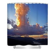 Cloud Formation Shower Curtain