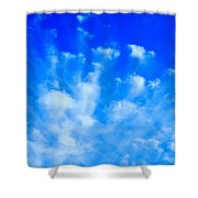 Cloud Formations I Shower Curtain