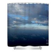 Cloud Horizon Shower Curtain