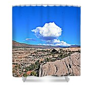 Cloud In Colorado Shower Curtain