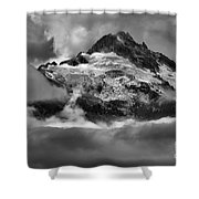 Cloud Layers Over Tantalus Shower Curtain