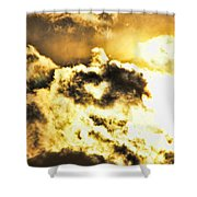 Cloud Of Love Shower Curtain