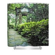 Cloud Pavilion Synchro Hp Shower Curtain