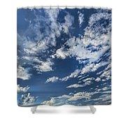 Cloud Puffs Shower Curtain