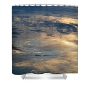 Cloud Reflection Shower Curtain