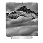 Cloud Rush Over Tantalus Shower Curtain