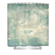 Cloud Series 1 Of 6 Shower Curtain by Brett Pfister