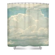 Cloud Series 2 Of 6 Shower Curtain