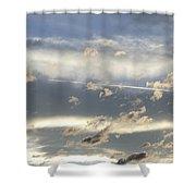 Cloud Series 39 Shower Curtain