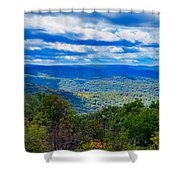 Cloud Shadows Shower Curtain