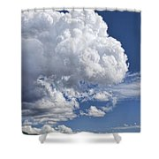 Cloud Study 114 Shower Curtain