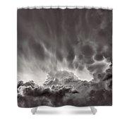 Cloud Study 1382 Shower Curtain