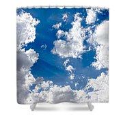 Cloud Study 3852 Shower Curtain