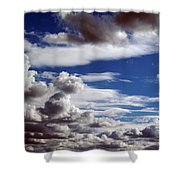 Cloud Ten Enhanced Shower Curtain