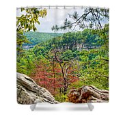 Cloudland Canyon State Park Georgia Shower Curtain