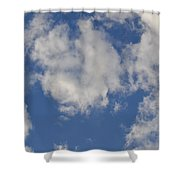 Clouds 8 Shower Curtain