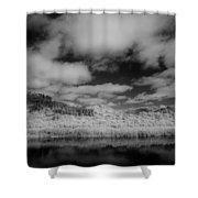 Clouds Above Klamath Shower Curtain
