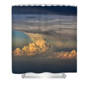 Clouds Above The Clouds Shower Curtain