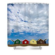 Clouds And Sheds Shower Curtain