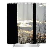 Clouds At Dusk II Shower Curtain