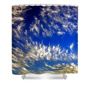 Clouds At Sunset Shower Curtain