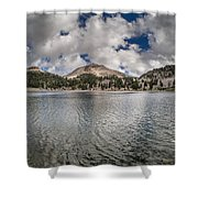 Clouds Form Over Lake Helen Shower Curtain