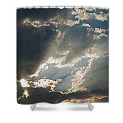 Clouds I Shower Curtain