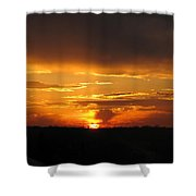 Clouds In Control - Featured In Harmony And Happiness And Newbies Groups Shower Curtain