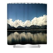 Clouds In The Grand Tetons Shower Curtain
