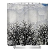 Clouds Named Cotton Shower Curtain