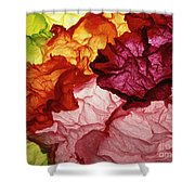 Clouds Of Colors Shower Curtain